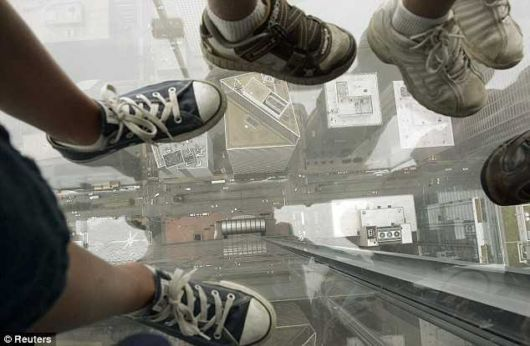 Glass Balcony On The 103rd Floor