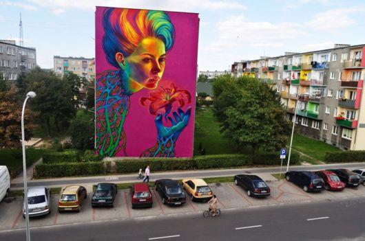 Amazing Building-Sized Street Art Portraits