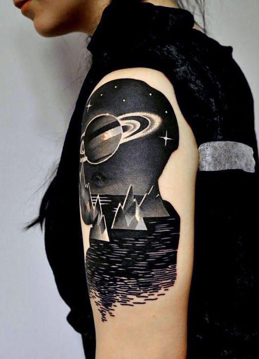 Cosmic Tattoos Every Stargazer Will Love