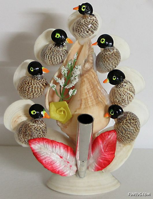 Amazing Artwork With Shells