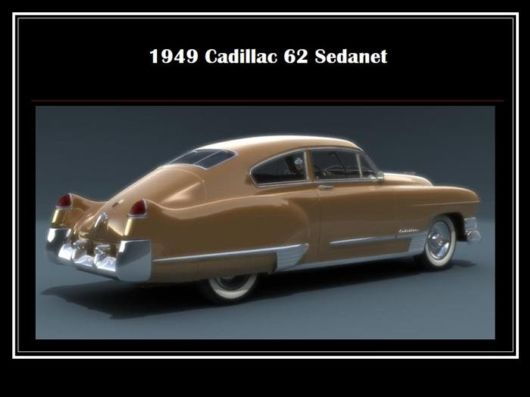 The Beautiful US Cars Of The 40s and 50s