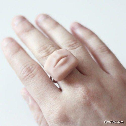 Creepy Tiny Body Part Jewelry