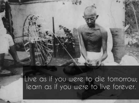 7 Beautiful Quotes By Gandhi That Were Never Actually Uttered By Him