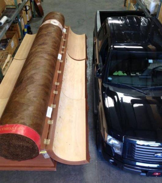 World's Largest Cigar Worth 200000 Dollars