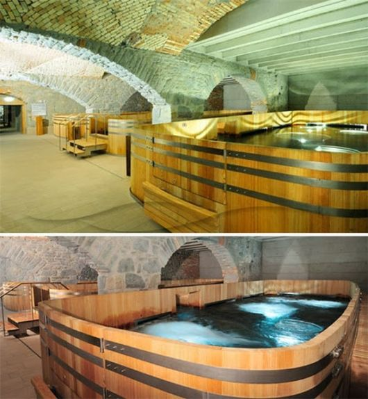 Underground Brewery Converted To Thermal Spa