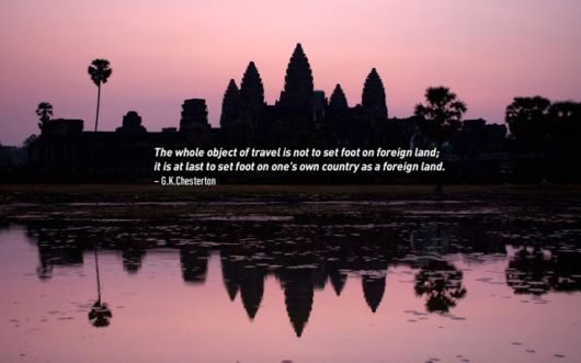 Cool And Inspiring Travel Quotes With Pictures
