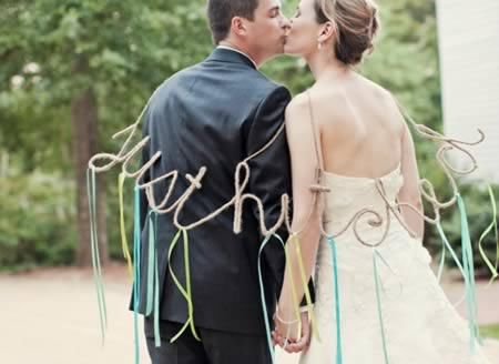 Coolest Just Married Photos