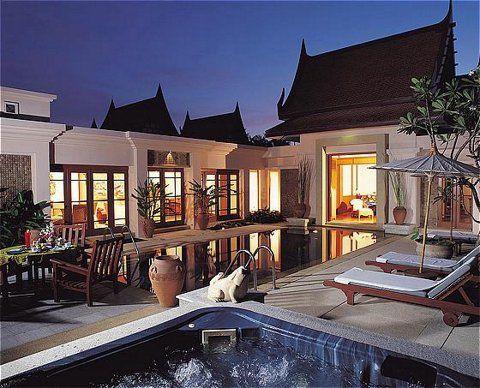 Beautiful Banyan Tree Hotel at Phuket