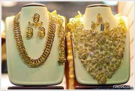 The Old Gold Market In Dubai