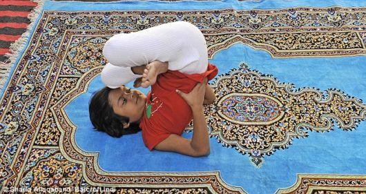 Worlds Youngest Yoga Teacher