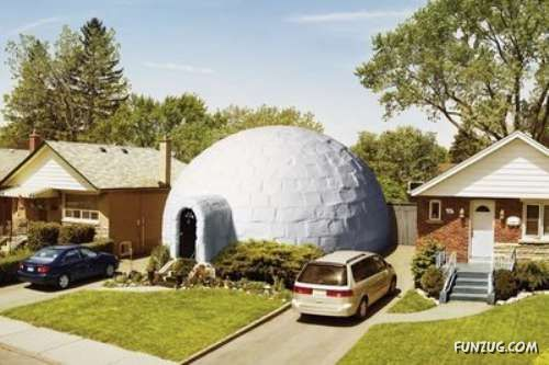 Very Unusual Houses Around The World
