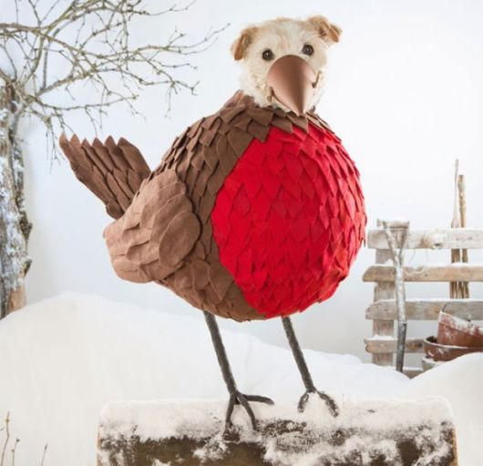 Photographer Turns His Dog Into Different Animals At Christmas