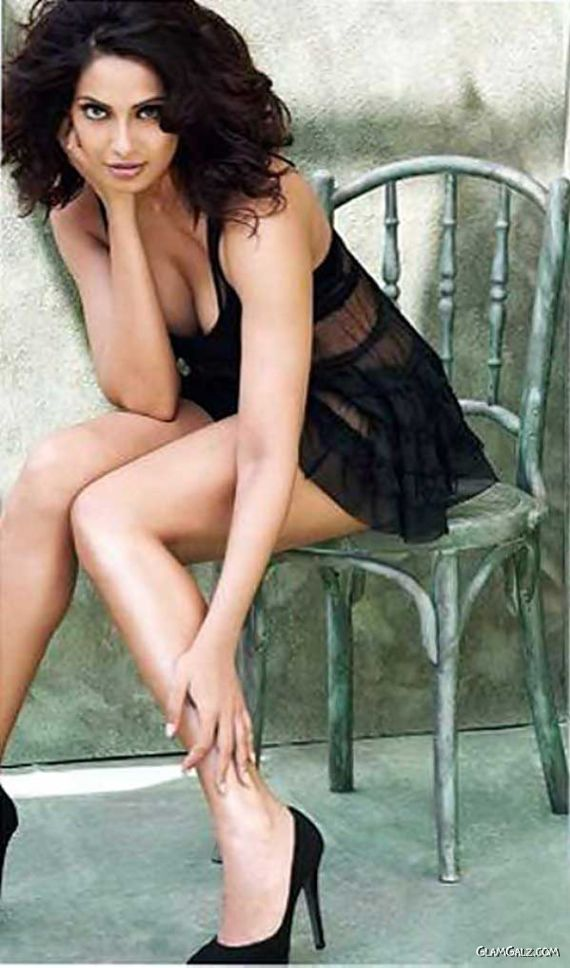 Bipasha Basu Shoots For Mans World Mag