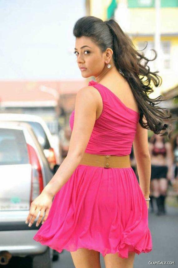 Pretty Kajal Agarwal In Pink