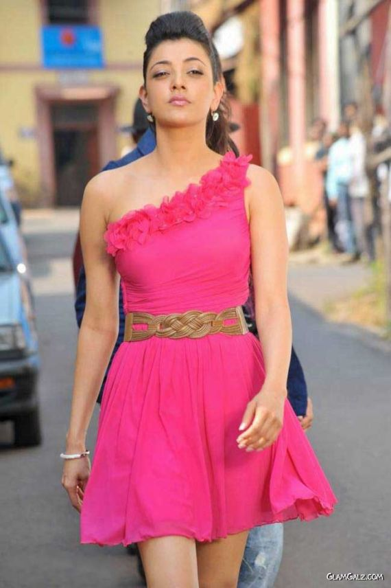 Pretty Kajal Agarwal In Pink