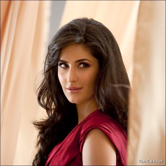 Lovely Katrina Kaif Shining in Red