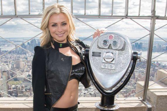Dianna Dahlgren At The AMA Supercross Stars Visit