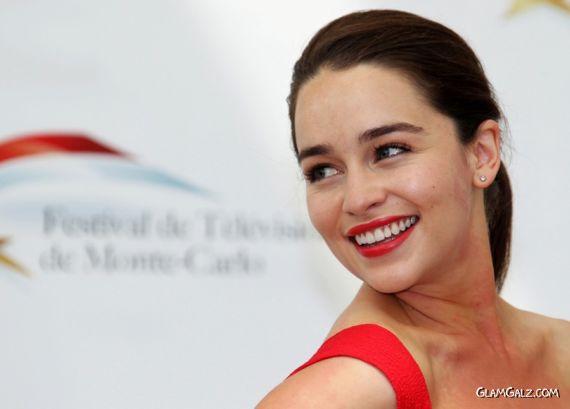Pretty Emilia Clarke At The Television Fest