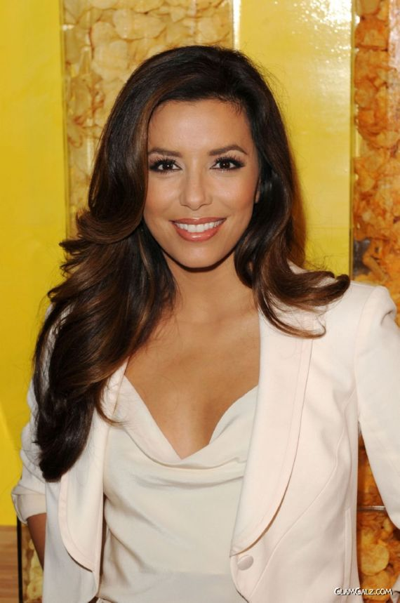 Eva Longoria For Lays Contest Kick-Off Event