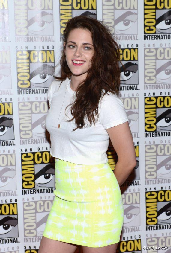 Kristen Stewart At Comic Con Fest