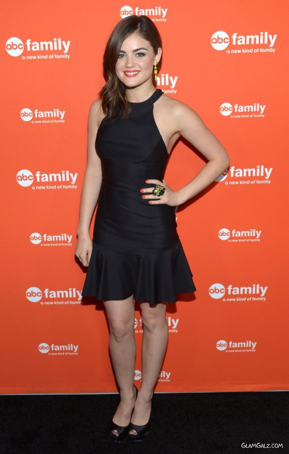 Pretty Lucy Hale For ABC Family