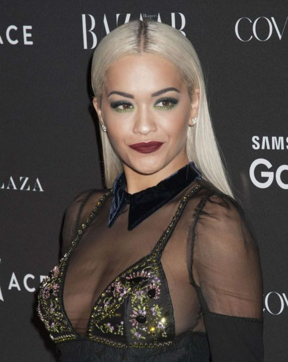 Rita Ora At Harpers Bazaar ICONS Event In NY