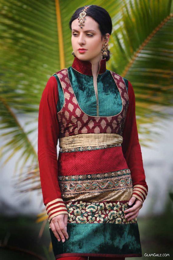 Banarsi Style Indian Suits Fashion
