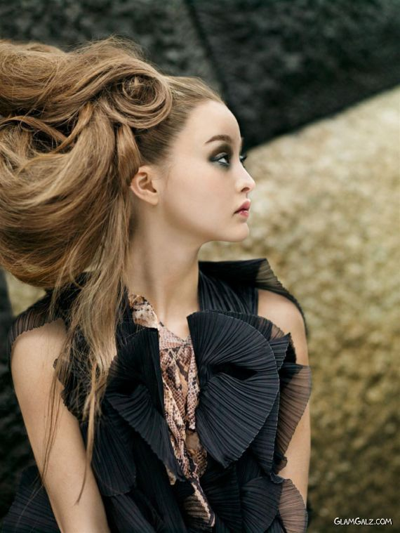 Devon Aoki for Vogue Nippon