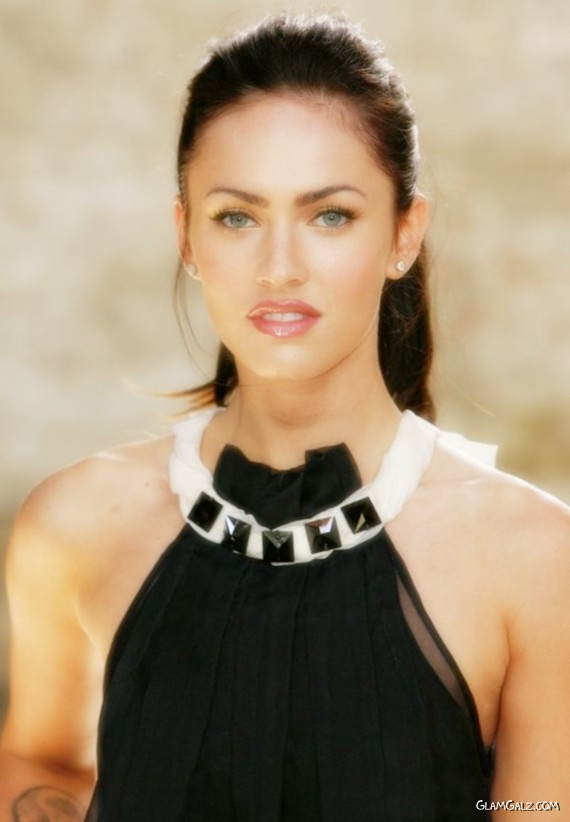 Lovely Megan Fox In Black