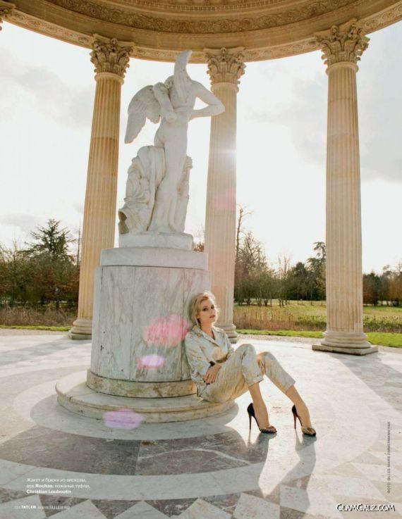 Diane Kruger Graces Tatler
