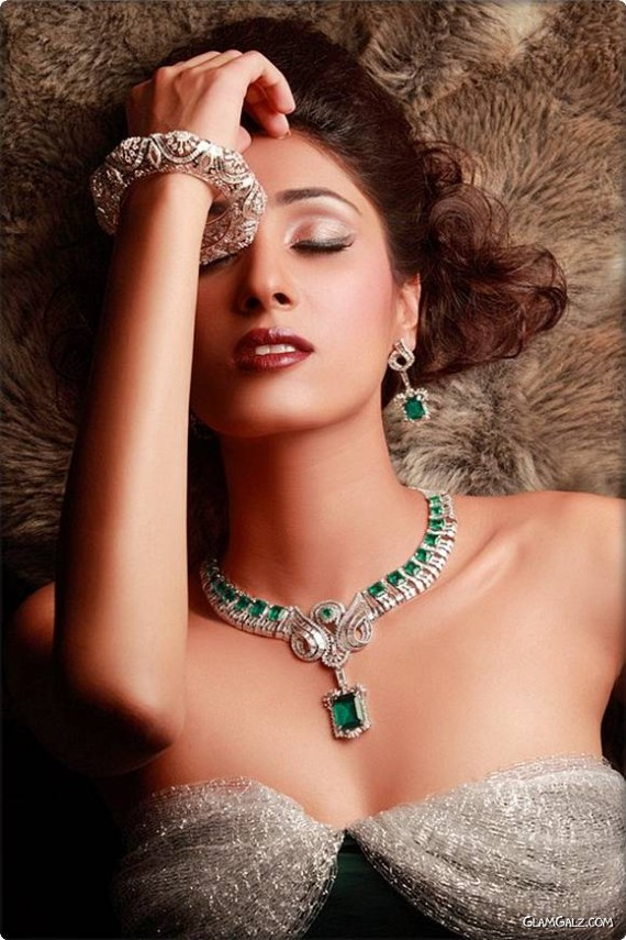 Galz in Jewellery Photo Shoot