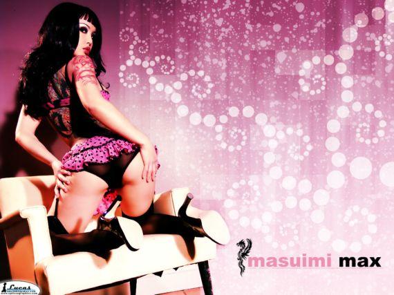 Lovely Masuimi Max Photo Shoot