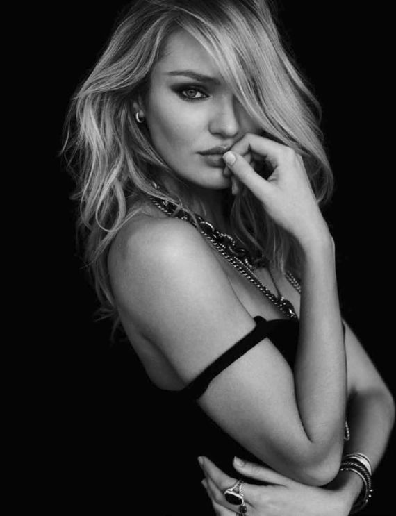 `Candice Swanepoel Poses For My Town Magazine