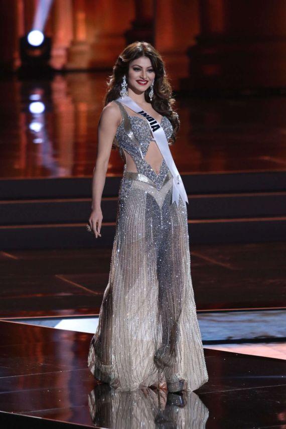 Urvashi Rautela's Miss Universe 2015 Prelims In Vegas