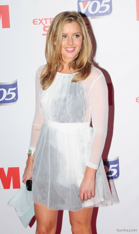 Caggie Dunlop At The FHM Party