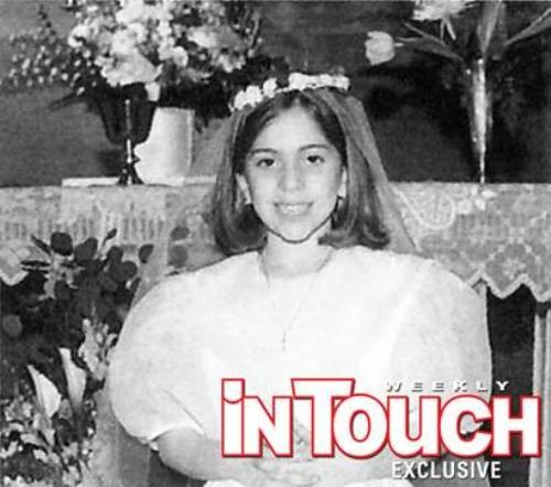 Lady Gaga Childhood Pictures