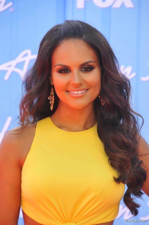 Pia Toscano At American Idol