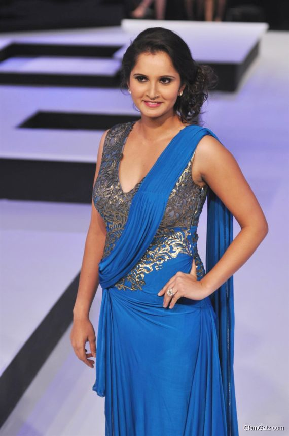 Sania Mirza At A Fashion Show