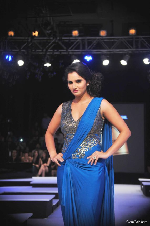 Sania Mirza At A Fashion Show
