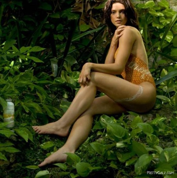 Ashley Greene Painting Shoot