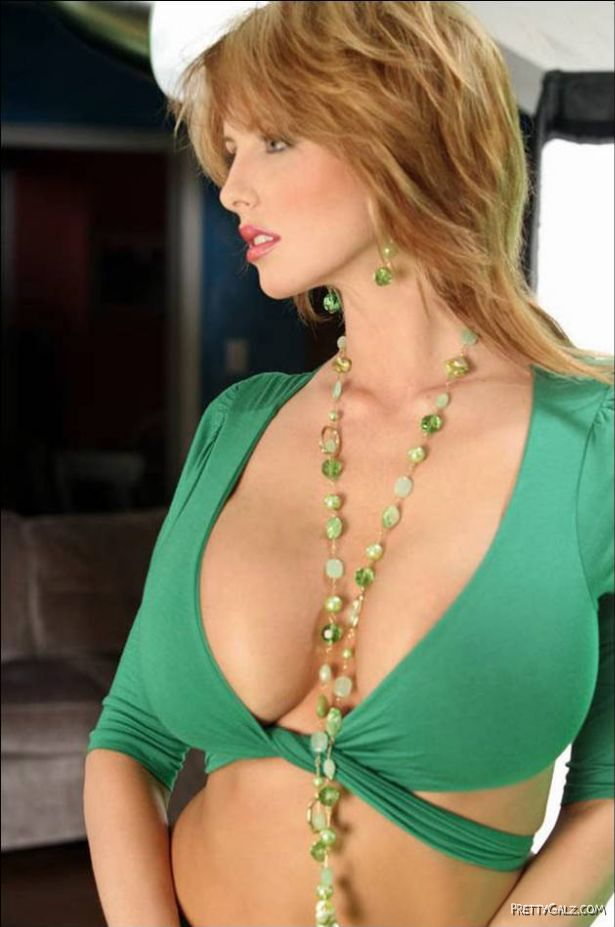 Brandy Robbins Photoshoot in Green