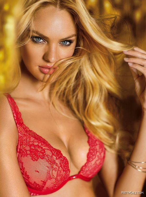 Candice Swanepoel For Victorias Secret Lingerie Shoot