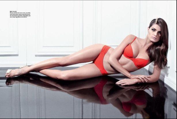 Isabeli Fontana For Uni Photoshoot 2014