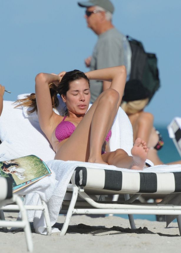 Aida Yespica On A Vacation In Miami