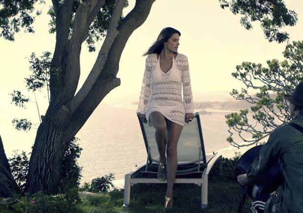 Alessandra Ambrosio For Self Magazine Shoot