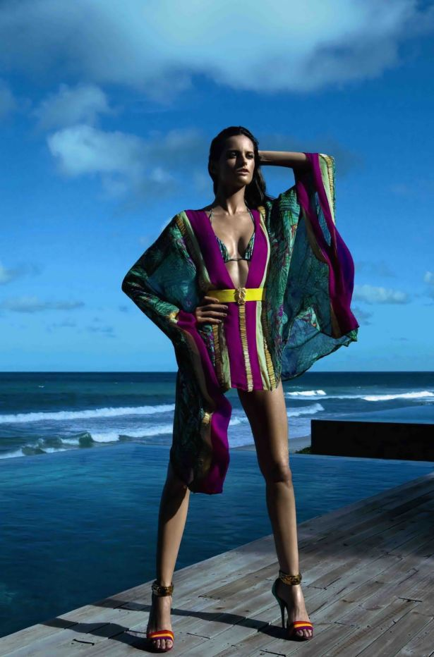 Izabel Goulart For Cia Maritima Bikini Photoshoot