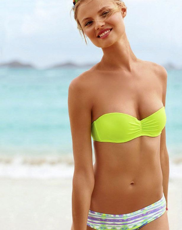 Magdalena Frackowiak For Victorias Secret Shoot