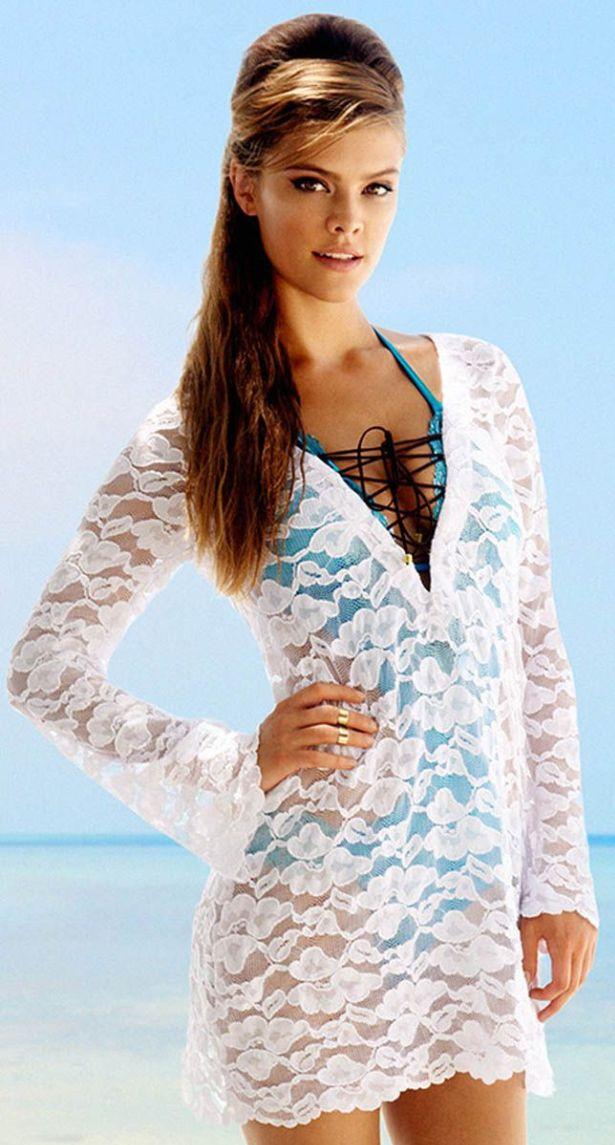 Nina Agdal For Beach Bunny Collection 2013