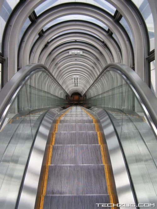 Worlds Highest 'Open Air' Escalator
