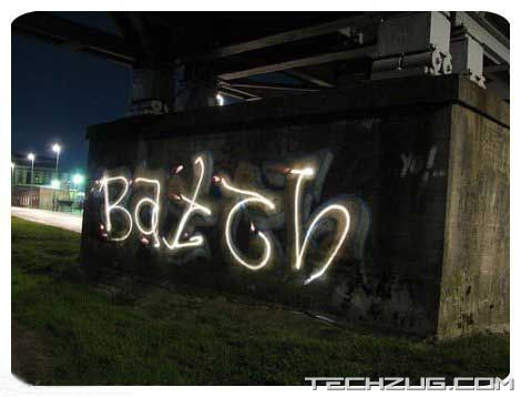 Spectacular Graffiti with only Light!